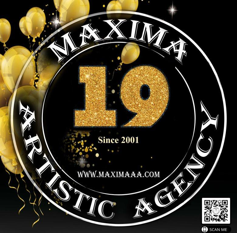 Maxima Artistic Agency & Show Production's 19th anniversary!